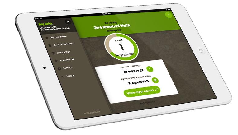 Mooce website design app development cambridge for Household waste design